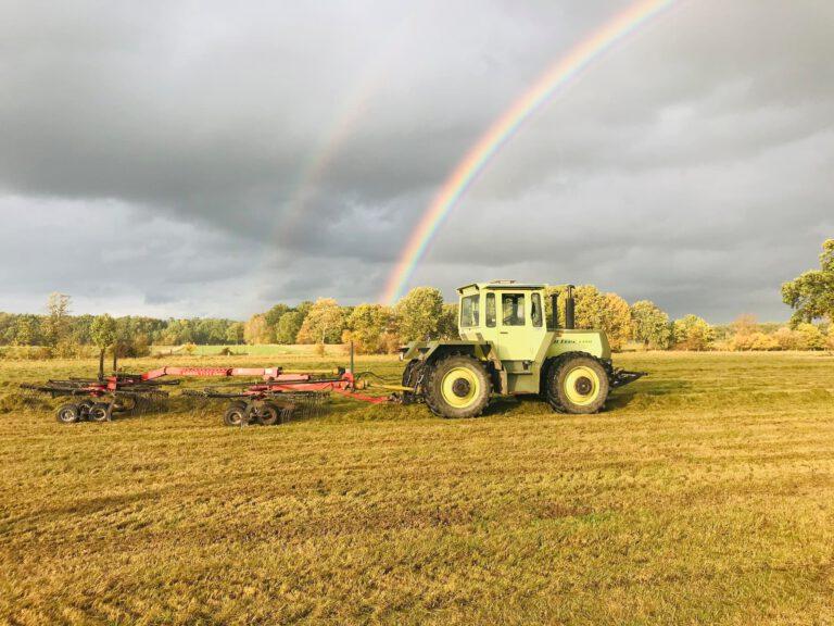 Schmidts Hof Garbsen MB Trac Traktor